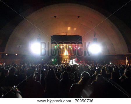 J Boog Sings On Stage At Mayjah Rayjah Concert