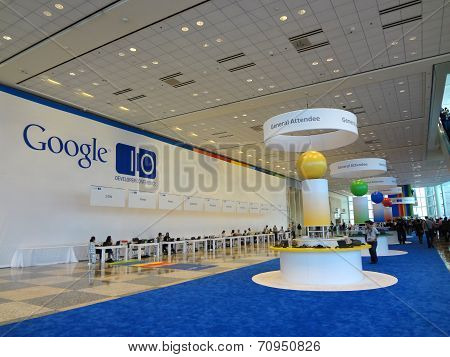 Inside Google I/o Android Convention Developer Conference