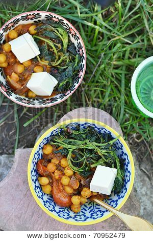 Indian  Chickpea Curry