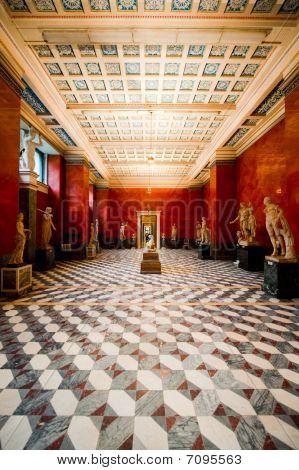 Hermitage Museum In Saint Petersbourg, Russia