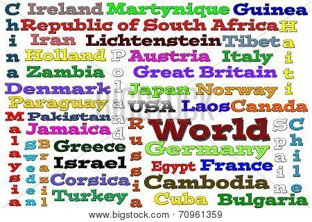 World (word cloud)