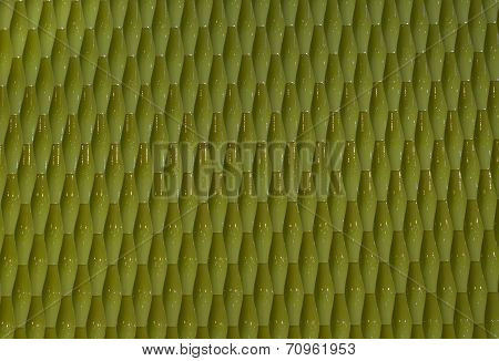 abstract background made of plastic