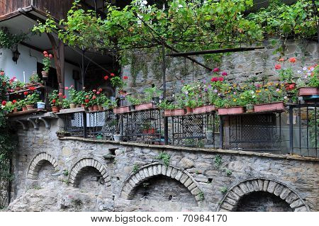 Neighborhood Of The Old Town In Veliko Tarnovo