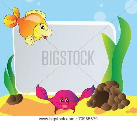Frame - Marine Life