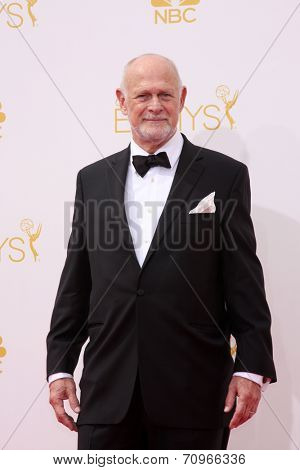 LOS ANGELES - AUG 25:  Gerald McRaney at the 2014 Primetime Emmy Awards - Arrivals at Nokia at LA Live on August 25, 2014 in Los Angeles, CA