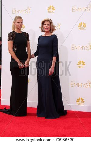 LOS ANGELES - AUG 25:  Christine Baranski at the 2014 Primetime Emmy Awards - Arrivals at Nokia at LA Live on August 25, 2014 in Los Angeles, CA