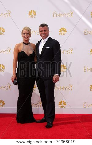 vLOS ANGELES - AUG 25:  Matt LeBlanc at the 2014 Primetime Emmy Awards - Arrivals at Nokia at LA Live on August 25, 2014 in Los Angeles, CA