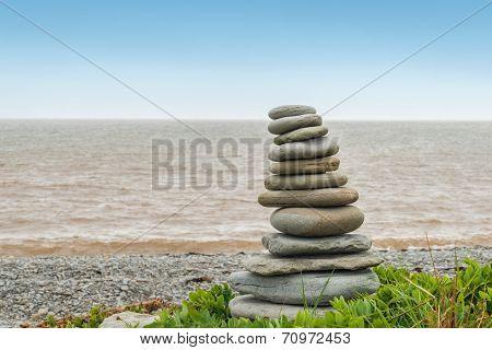 Stone Sculpture Inukshuk