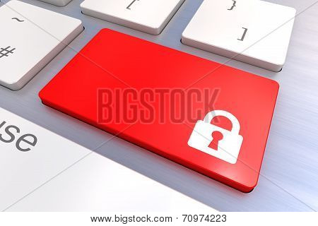 Security Keyboard Button