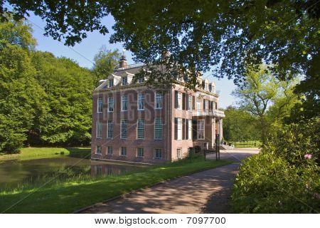Zypendaal Castle in Zijpendaal Park, Arnhem
