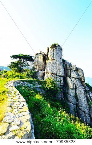 Geumjeongsanseong Forest Fortress, Busan, South Korea