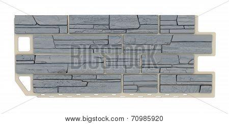 Grey Stone Fasade Panel