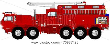 Extreme Tactical Fire Engine