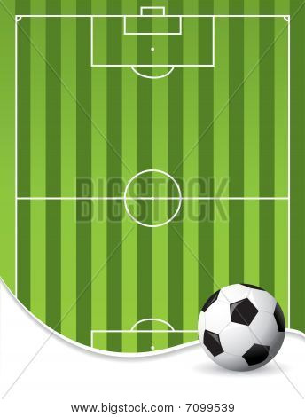 Football Pitch Background