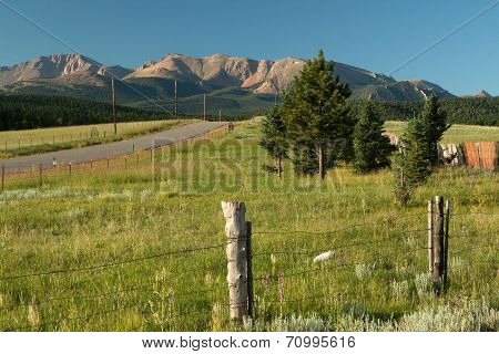 North slope of Pikes Peak