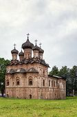 pic of trinity  - Church of the Holy Trinity was build in 1557 and shows the influence of Moscow architecture Veliky Novgorod Russia - JPG