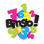 picture of poker machine  - Creative Abstract Bingo - JPG