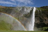 picture of hughes  - Seljalandsfoss one of the many waterfalls on Iceland - JPG