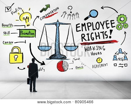 Employee Rights Employment Equality Job Businessman Corporate Concept