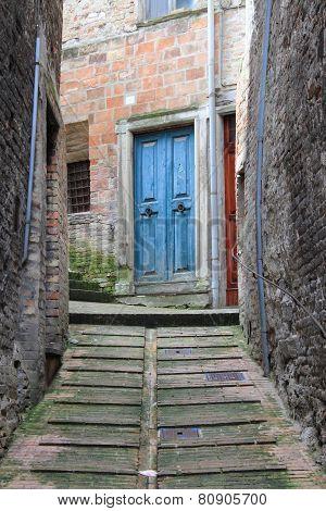 Urban scene in Urbino