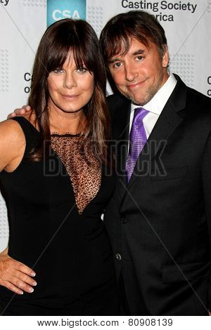 LOS ANGELES - JAN 22:  Marcia Gay Harden, Richard Linklater at the American Casting Society presents 30th Artios Awards at a Beverly Hilton Hotel on January 22, 2015 in Beverly Hills, CA