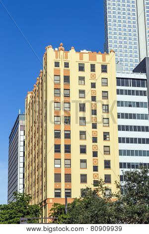 Historic Skyscraper In Downtown Miami Historic District