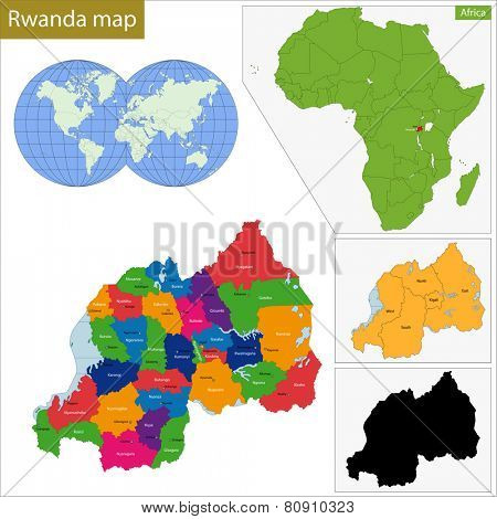 Administrative division of the Republic of Rwanda