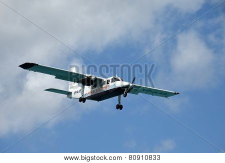Anguilla Air Services Propeller Airplane