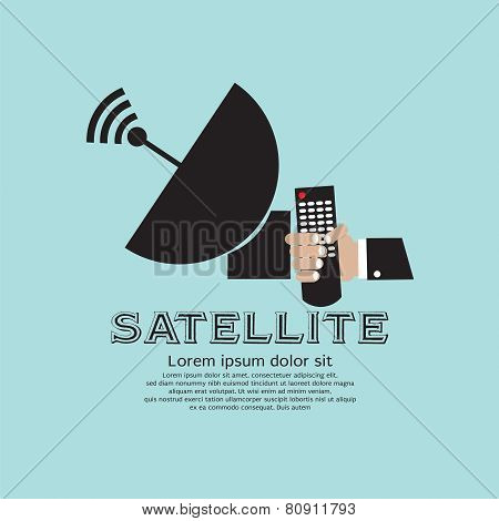 Satellite Vector.