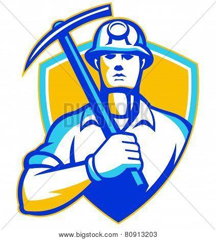 Coal-miner-pickax-front-shield
