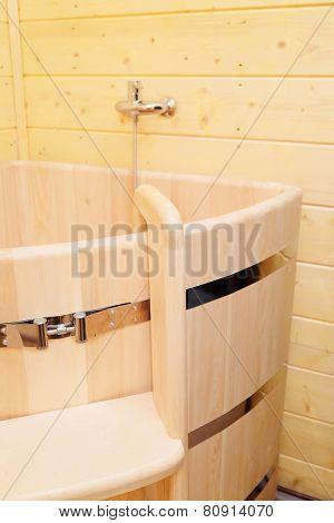 Phytotherapy. Angular cedar bath