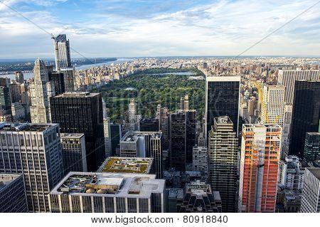 Skyline On Central Park