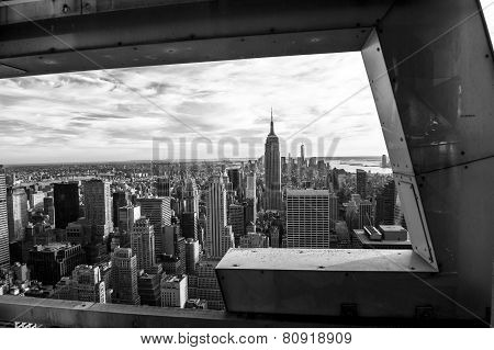 Black And White On New York