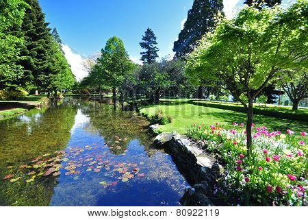 Queenstown Gardens New Zealand