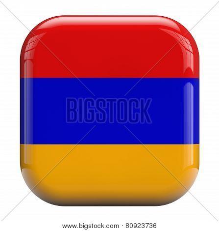 Armenia Flag Image Icon