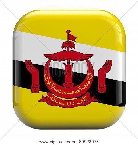 Brunei Flag Image Icon