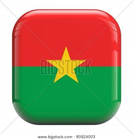 Burkina Faso Flag Image Icon