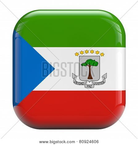 Equatorial Guinea Flag Icon Image