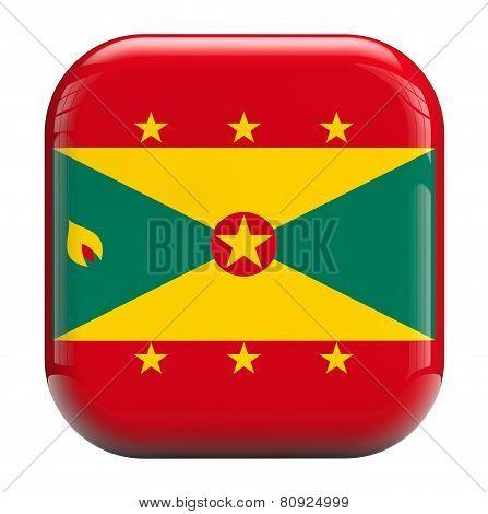 Grenada Flag Icon Image