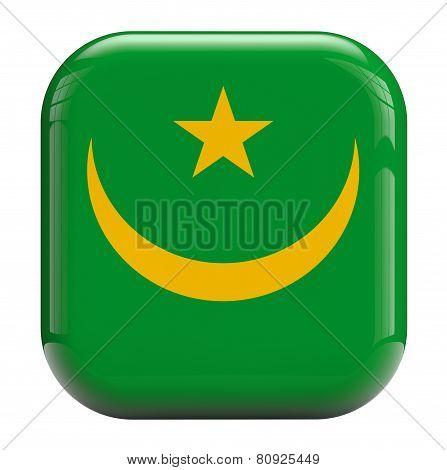 Mauritania Africa Flag Icon Image