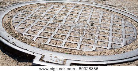 Metal Manhole Cover