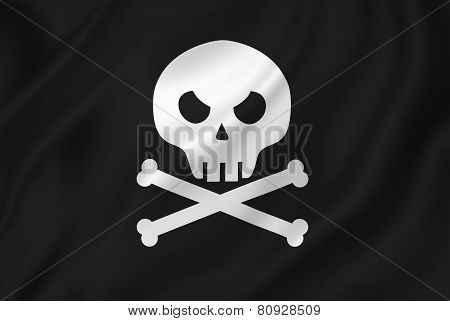 Pirate Skull With Crossed Bones.