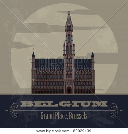 Belgium infographics, statistical data, sights