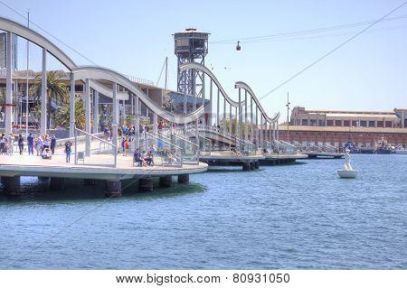 Barcelona. Sea Rambla