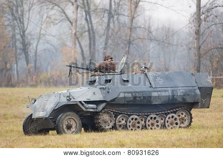Shooting From Tank