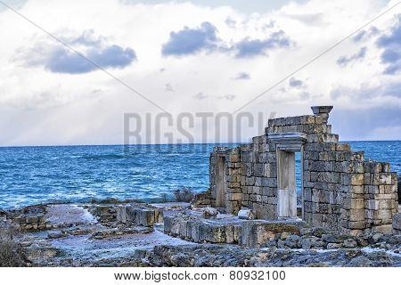 Ruins Of An Ancient Greek Temple