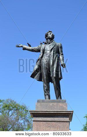 Statue Of Alexander Pushkin.