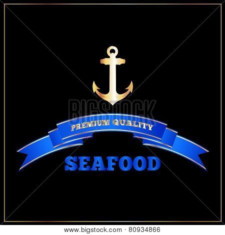 High Quality Seafood Menu Cover Or Signage