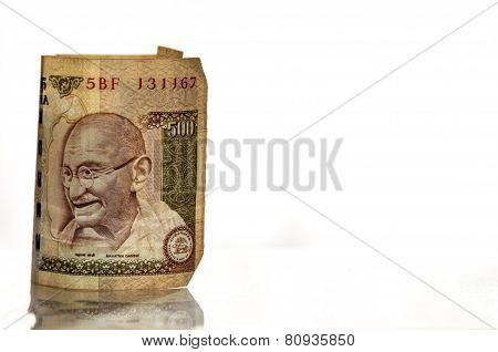 Indian 500 Rupee Banknote
