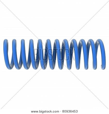 Isolated Spring Or Coil Concept